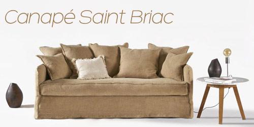 Canapé déco Saint Briac