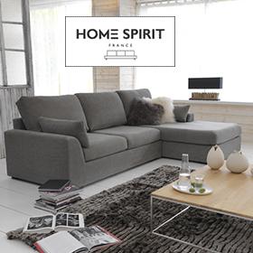 Canapés Home Spirit déhoussables