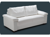 Canapé lit haut de gamme Gonzaga matelas 18 cm