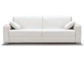 Canapé lit haut de gamme Leonardo matelas 18 cm