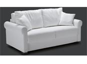 Canapé classique Rubens avec matelas de 18 cm d'épaisseur
