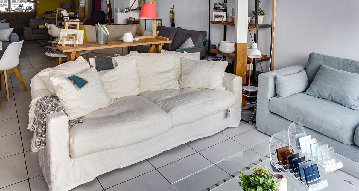 Canapé en lin Marseille
