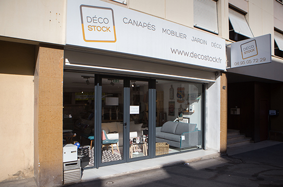 Boutique canapé et déco Marseille