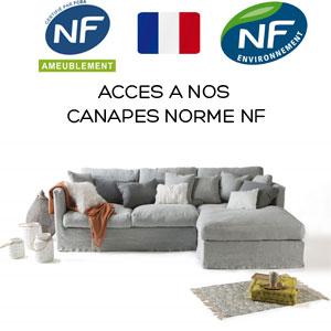 Canapé Home Spirit norme NF