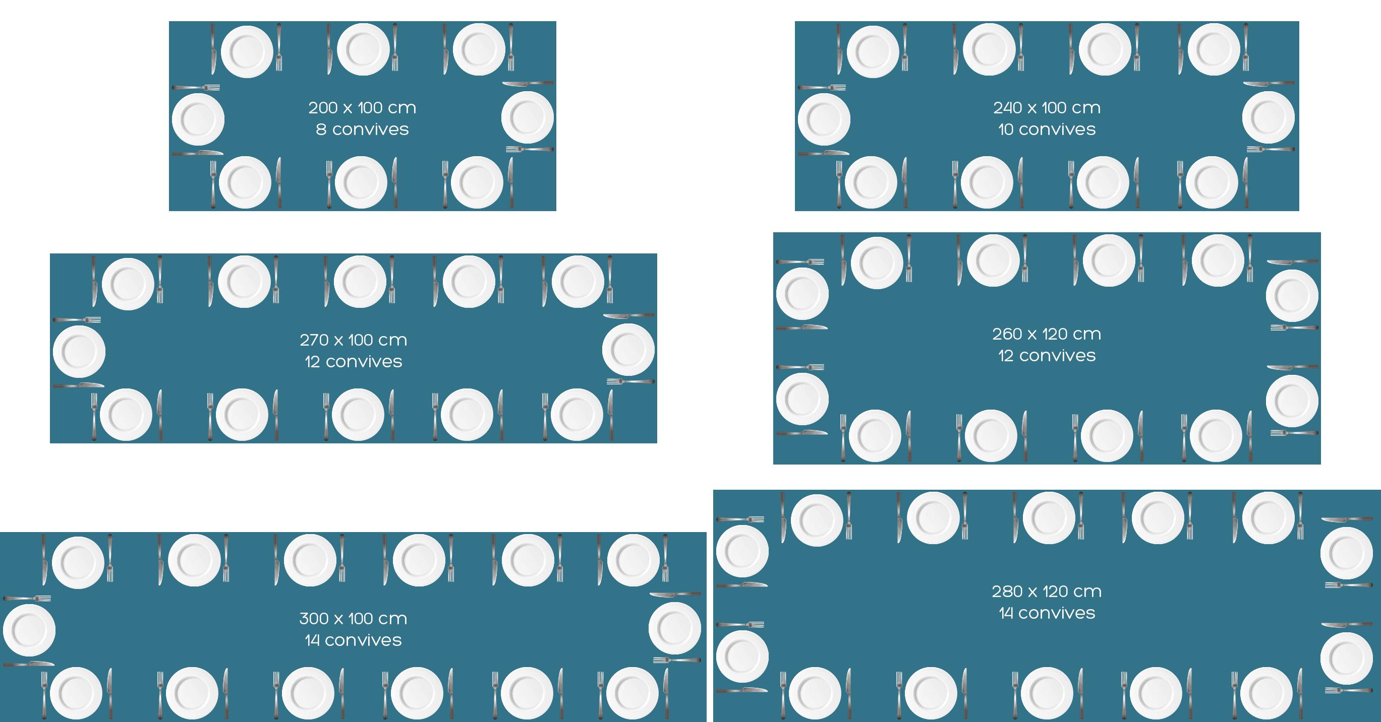 Table rectangulaire : quelle dimension choisir ?