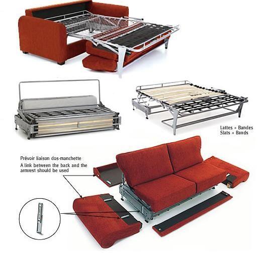 Canapé convertible démontable