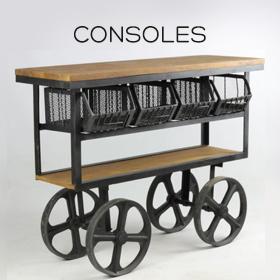 Consoles industrielles