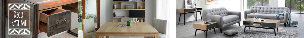 Déco-rythme mobilier design intérieur et extérieur, style scandinave et industriel