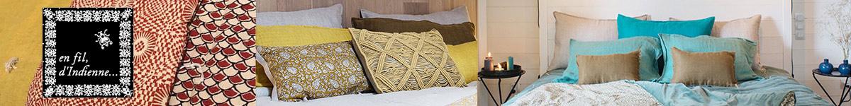 En fil d'Indienne - Décoration et textiles