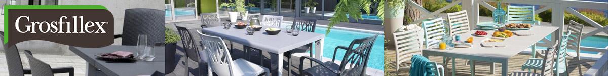Grosfillex, mobilier de jardin français pour les professionnels : hôtels, restaurants, bars, camping... CHR / HPA