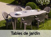 Grosfillex, mobilier de jardin fabriqué en France - Decostock