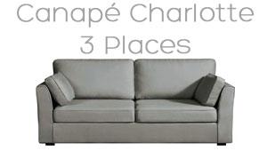 Canapé Charlotte livraison rapide