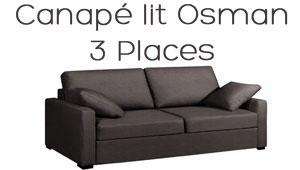 Canapé lit Osman livraison rapide