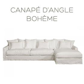 Canapé d'angle Bohème