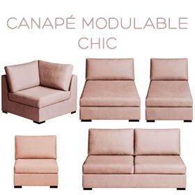 Canapé modulable Chic