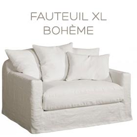 Fauteuil XL Bohème