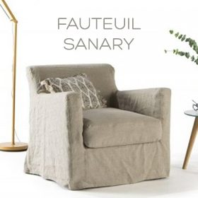 Fauteuil Sanary