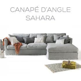 Canapé d'angle Sahara