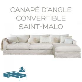 Canapé d'angle Saint-Malo