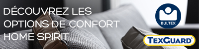 Options de confort canapés Silver Home Spirit