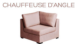 Chauffeuse d'angle Chic Home Spirit