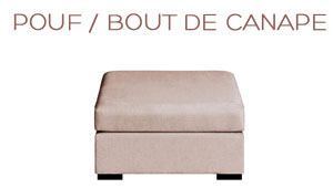Pouf Chic Home Spirit