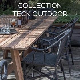 Collection Teck Outdoor Kok Maison
