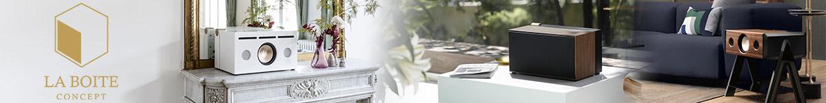 La Boite Concept : enceintes acoustiques hi-fi luxury design