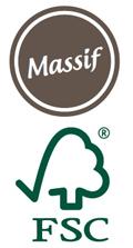 Bois massif label FSC