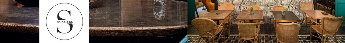Signature, éditeurde meubles sur mesure élégants, vintage et déco