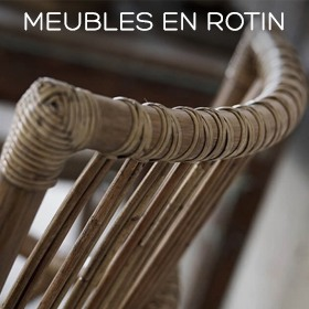 Meubles scandinaves en rotin Sika Design