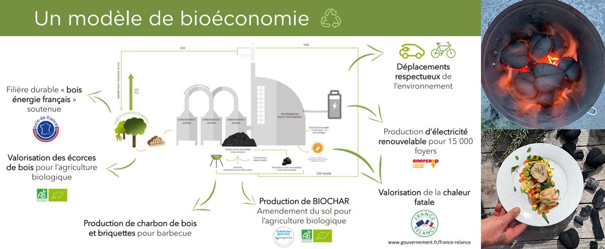 Un modèle de production bio-économique