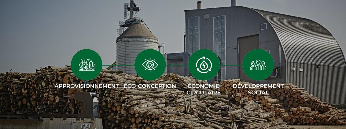 Production de charbon éco-responsable et 100% française