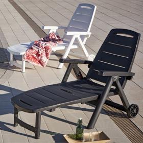 Bains de soleil en plastique Sp Berner Shaf