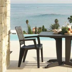Chaises de jardin en plastique Sp Berner Shaf