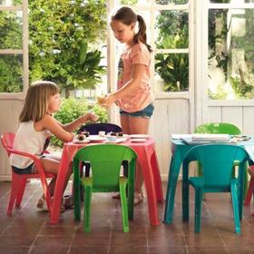 Mobilier pour enfants en plastique Sp Berner Shaf