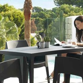 Tables de jardin en plastique Sp Berner Shaf