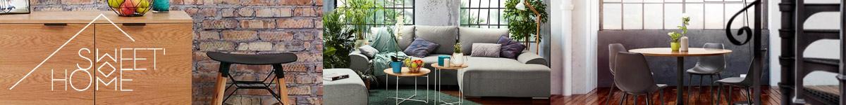 Sweet Home Mobilier design pas cher. Style scandinave, industriel, contemporain...