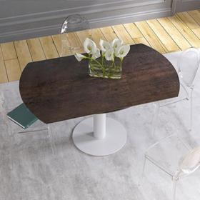 Tables de repas en verre de la marque Table Concept