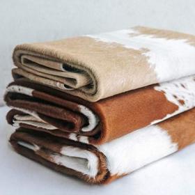 Toutes les peaux de vaches naturelles et tapis en cuir