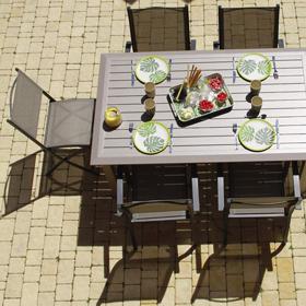Tables de repas et ensembles de jardin